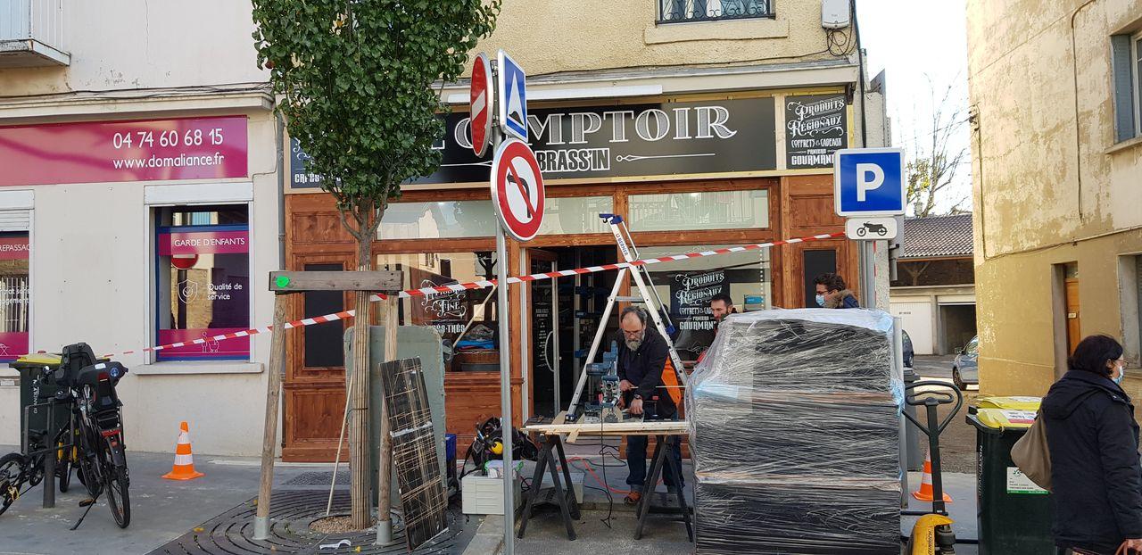 Le comptoir du Brassin-Installation-Laps Agencement-1