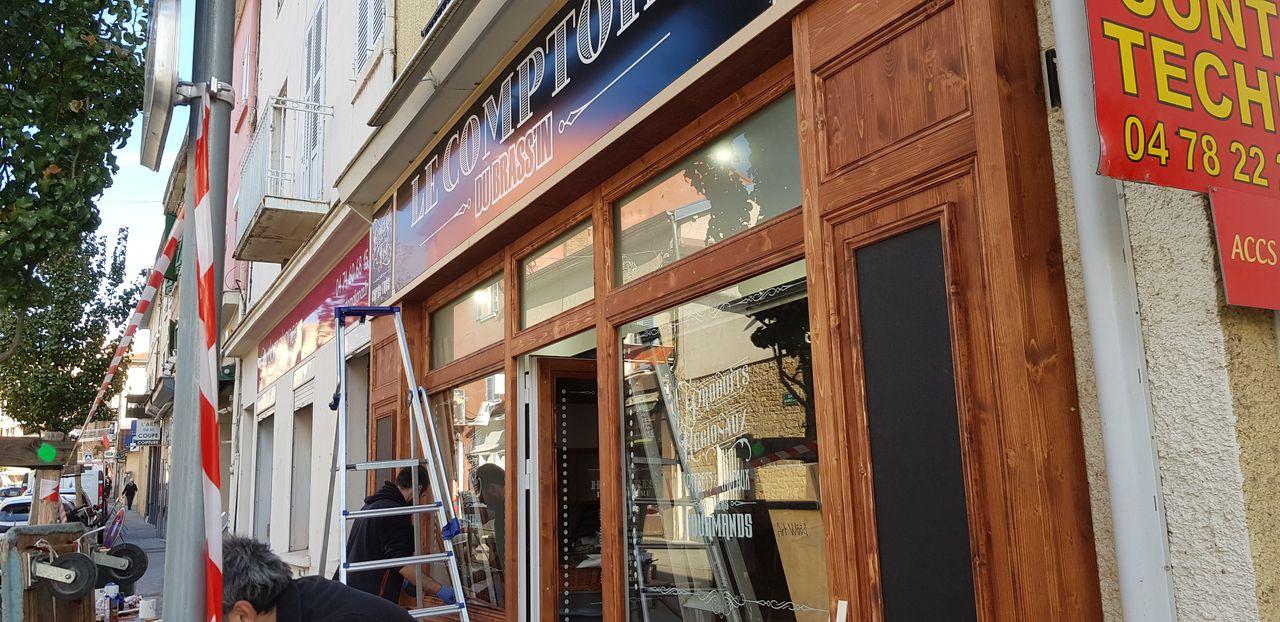 Le comptoir du Brassin-Installation-Laps Agencement-3