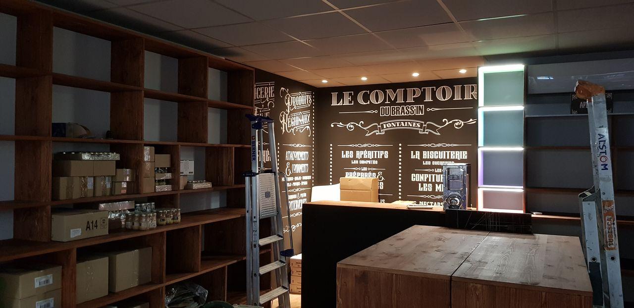 Le comptoir du Brassin-Installation-Laps Agencement-4