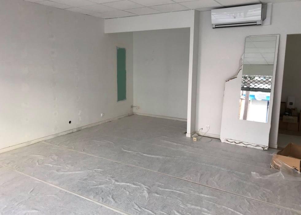 Le comptoir du Brassin avant travaux par Laps Agencement