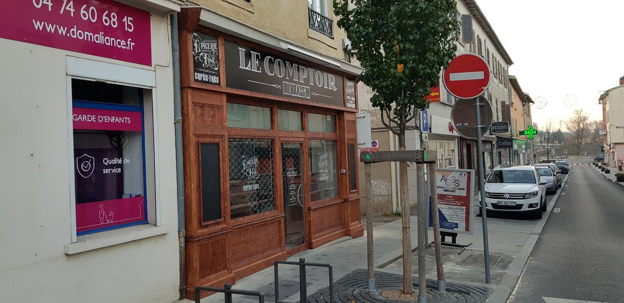 Le comptoir du Brassin-facade terminée-Laps Agencement